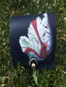 Leren jas of tas beschilderen